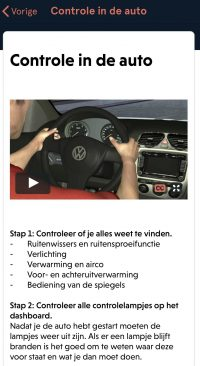 Lesvoorbereiding Controle in de auto animatie